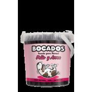 Bocados POLLO - vištienos skonio mėsos lazdelės 70% šviežios vištienos !