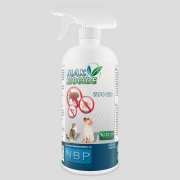 Max Biocide purškalas repelentas - insekticidas natūralus nuo parazitų šunims ir katėms, 500 ml